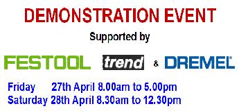 Festool, Trend, Dremel Demo Day