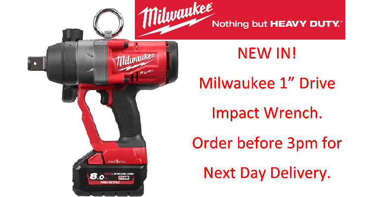 Milwaukee 1 Inch Drive Impact Wrench