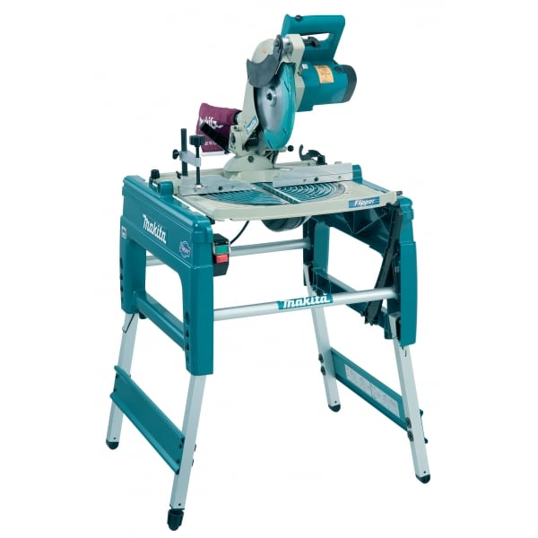 Makita Flip Over Saw LF1000 Combination Table Mitre Saw 260mm 240v Opt