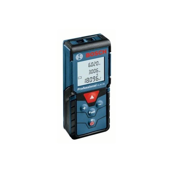 bosch glm40 40 metre distance laser measure bosch from alan wadkins ltd toolstore uk. Black Bedroom Furniture Sets. Home Design Ideas