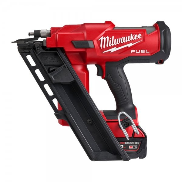 Milwaukee M18FFN-502C 18v Fuel Framing Nailer With 2 x 5.0Ah Batteries
