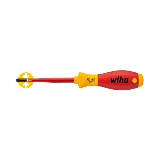 Wiha Softfinish Electric Slimfix Screwdriver Pozidriv