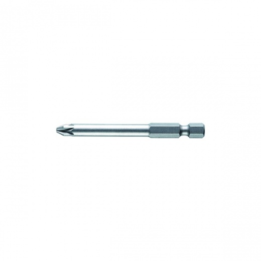 Wiha Standard Screwdriver Pozidriv Bit, Style E 6.3 PZ Longer Length