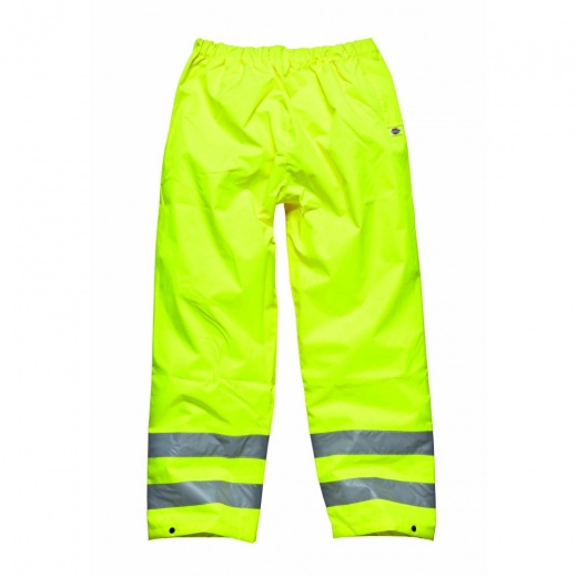 Dickies Highway Hi Visibility Safety Trousers Saturn Yellow