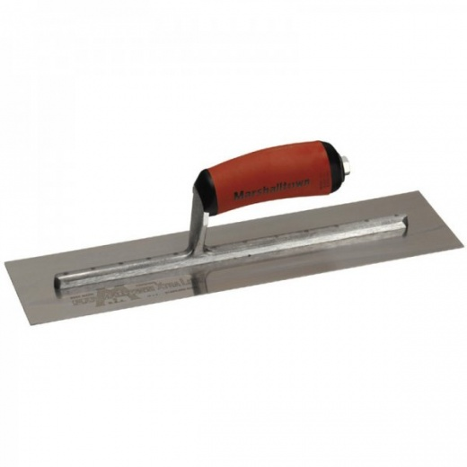 "Marshalltown Finishing Trowel with S/S Blade and Durasoft Handle 18""x5"""