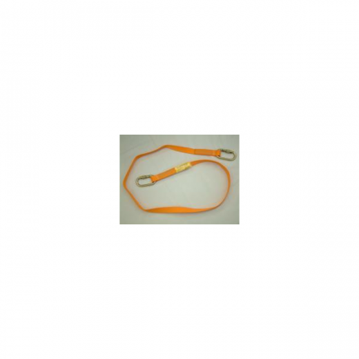 Trans-Web Safety Restraint Lanyard with Karabiner