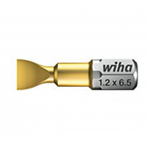 Wiha Tin Torsion Bit Slotted Style C 6.3 5.5x25mm