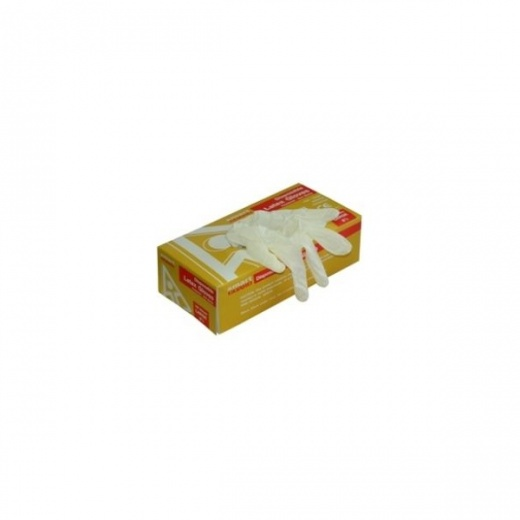 Own Brand Disposable Latex Gloves Box 100 Large