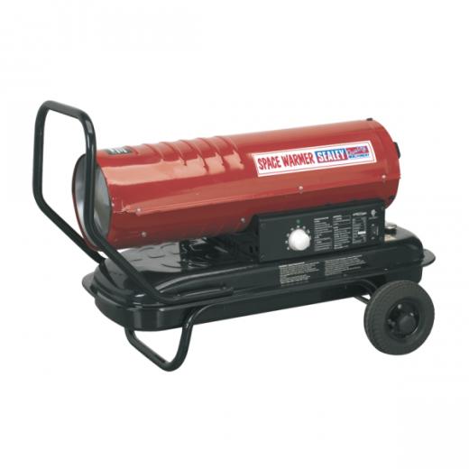 Sealey AB7081 diesel space heater 70000Btu/hr