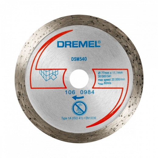 Dremel DSM540 Tile Cutting Wheel 2615S540JA For DSM20