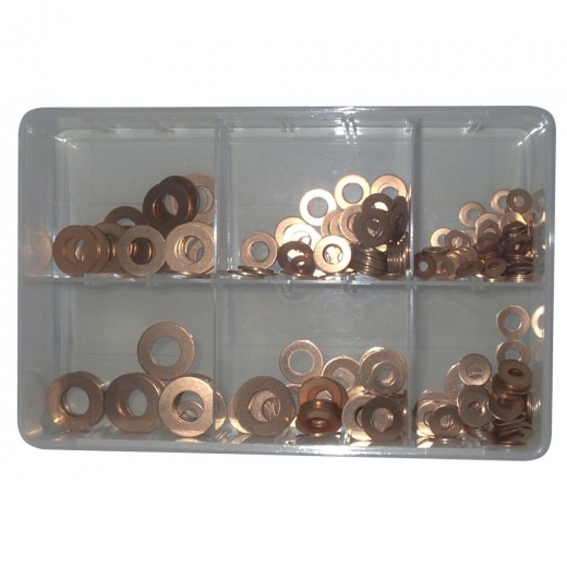 Farmpower Copper washer workshop kit 110 pieces