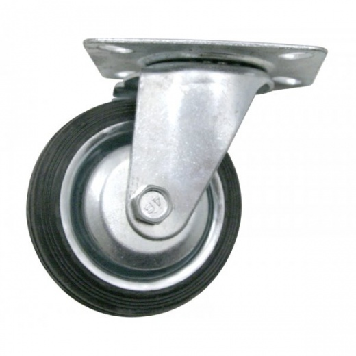 Farmpower 100mm Swivel Plate Castor Wheel 75kg 3512