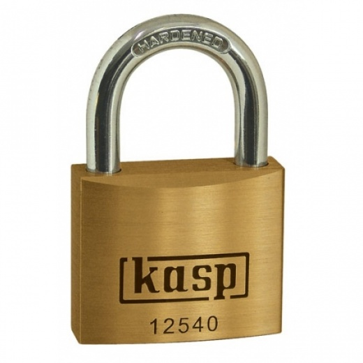 Kasp k12520d 125 Series 20mm Brass Padlock