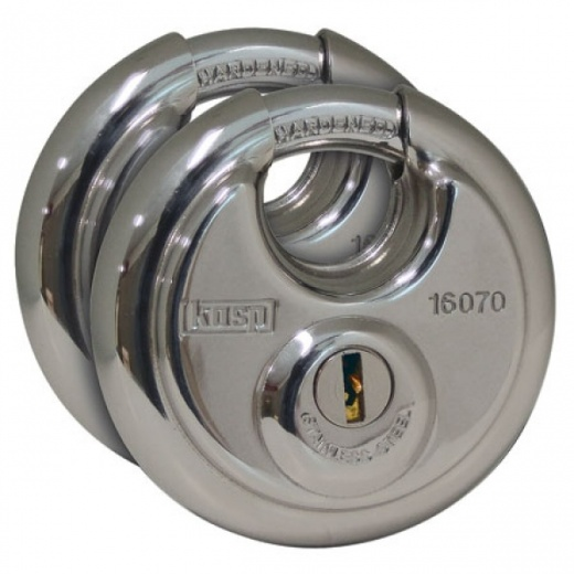 Kasp K16070D2 160 Disc Padlock Twin Pack 70MM