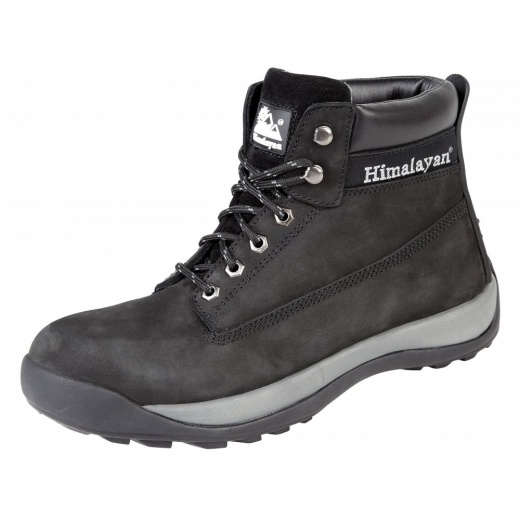 Himalayan 5140 Black Safety Work Boots Steel Midsole