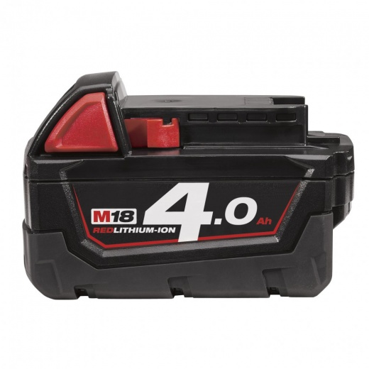 Milwaukee M18B4 18v 4.0AH Battery Red Li-on