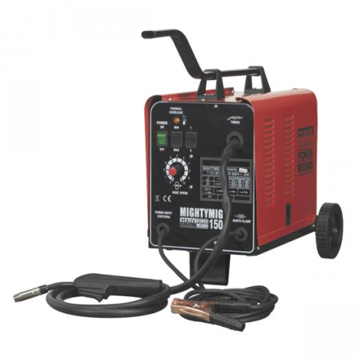 Sealey Mightymig150 150amp Mig Welder Gas/No Gas 230v
