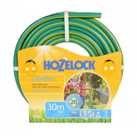 Hozelock 30mtr Anti Kick Ultra Flex Garden Hose 7730