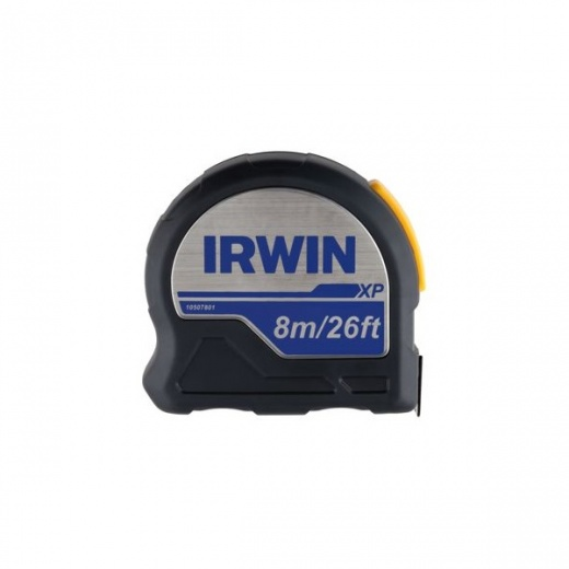 Irwin XP tape measure 5 metre and 8 metre