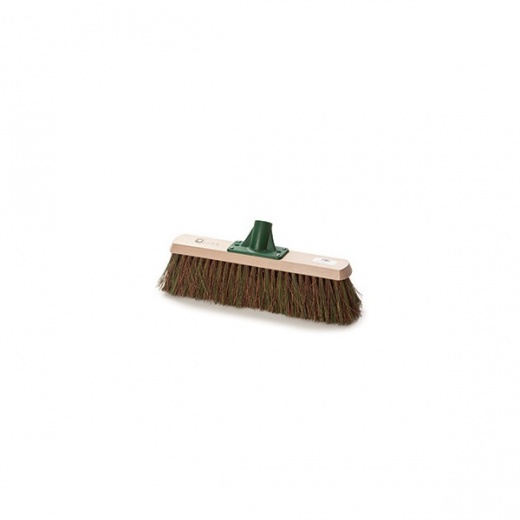 "Cottam Brush 15"" patio/driveway broom complete with socket"