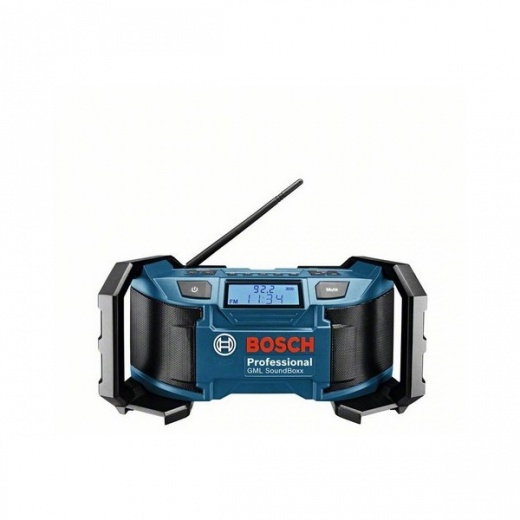 find a quality bosch gml soundbox jobsite radio 18v body only. Black Bedroom Furniture Sets. Home Design Ideas
