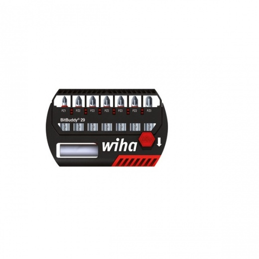 Wiha WHA-37318 8 piece pozidriv bit set