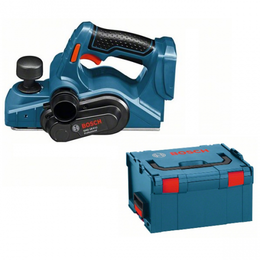 Bosch GHO18V Planer Body Only with L-BOXX GHO18