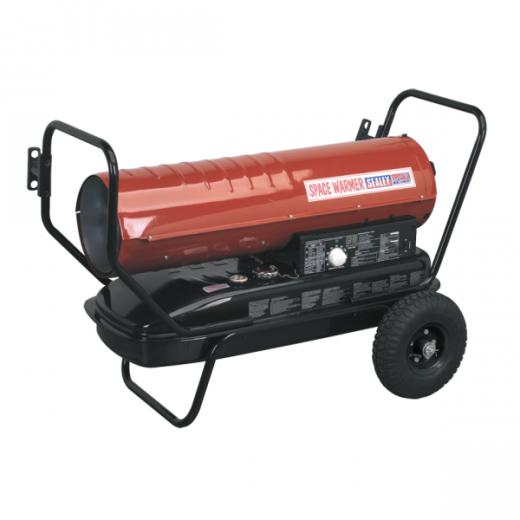 Sealey AB1008 Diesel Kerosene Space Heater 100,000btu/hr