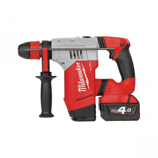 Milwaukee M18CHPX-402C M18 fuel high performance sds+ hammer drill 2 x 4.0Ah batteries