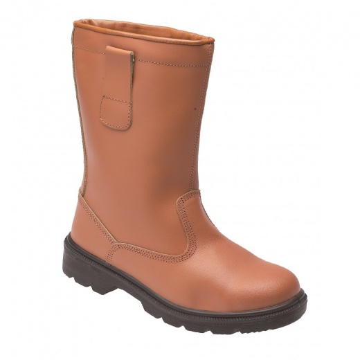 Briggs Industrial Toesavers tan budget rigger boots
