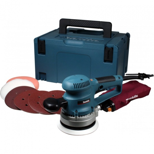 BO6030JX1 Random Orbit Sander With 53 Accessories In Makpac Case 110v or 240v