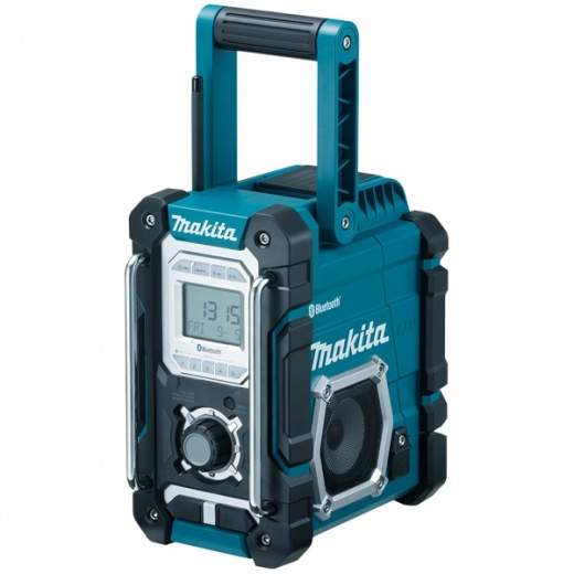 Makita DMR106 Job Site Radio With Bluetooth mains or cordless