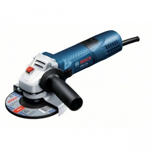 bosch angle grinder gws 7 115 115mm 720 watt 110v bosch from alan wadkins ltd toolstore uk. Black Bedroom Furniture Sets. Home Design Ideas