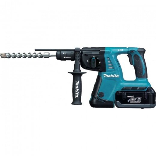 Makita BHR262TRDE 36v Cordless SDS Rotary Hammer With Quick Change Chuck 2 x 2.6amp Batteries