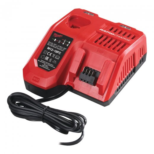 Milwaukee M12-18FC Rapid Battery Charger 240 Volt
