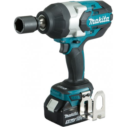Makita DTW1001RTJ 18v LXT Brushless Impact Wrench 3/4 Drive 2 x 5.0Ah
