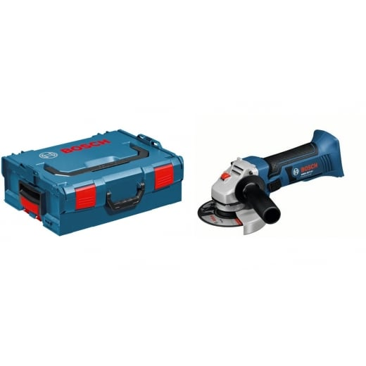 Bosch GWS18V-LI 18v Cordless Angle Grinder 115mm Body Only In L-Boxx Systainer