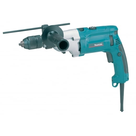 Makita HP2071F Percussion Drill With Light And Keyless Chuck