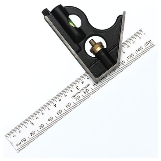 "Fischer F411ME 6"" Combination Square"