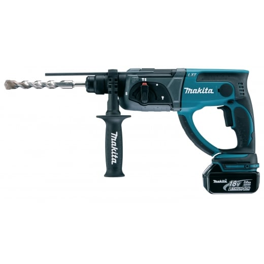Makita DHR202RFE 18v SDS Rotary Hammer Drill With 2 x BL1830 3.0Ah Batteries In Makpac