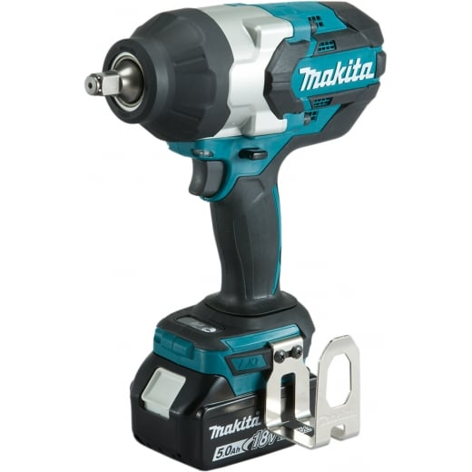 Makita DTW1002RTJ 18v 1/2 Impact Wrench 2 x 5.0amp Batteries Charger Case