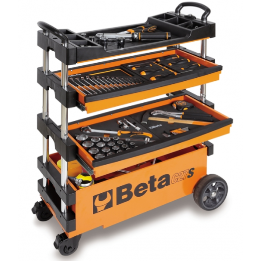 Beta Tools C27S Folding Tool Trolley (tools not included)
