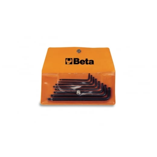 Beta Tools 8 Piece Torx Key Wrench Set In Plastic Wallet