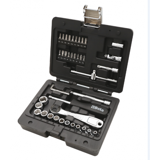 "Beta Tools 903E/C42 1/4"" Square Drive Socket Set"