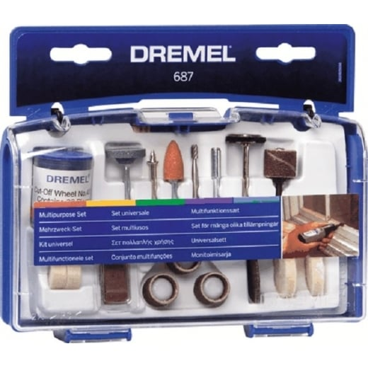 Dremel multipurpose accessory set 26150687JA