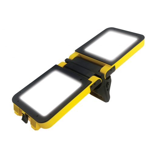 Milwaukee Work Light Uk: NightSearcher GALAXY 2400 Portable Rechargeable LED Work