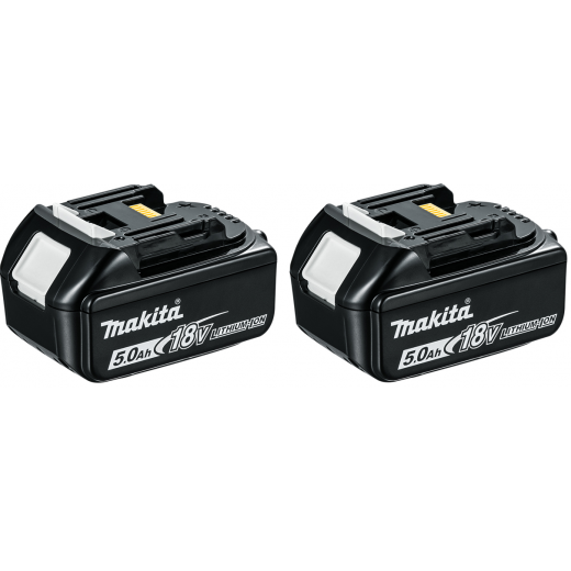 makita bl1850 18v battery twin pack makita from. Black Bedroom Furniture Sets. Home Design Ideas