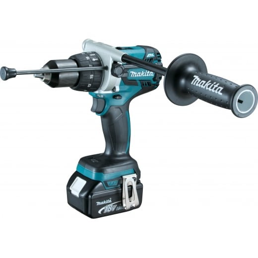 Makita DHP481RTJ 18v Brushless Combi 2 x 5.0amp Batteries + Charger + Makpac