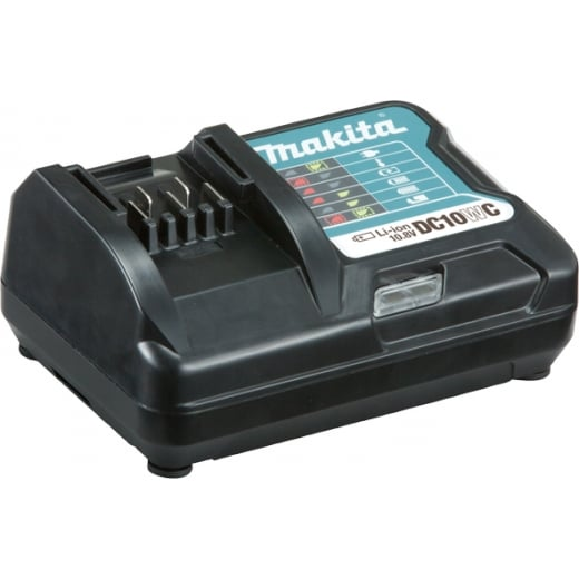 Makita DC10WC 10.8 Cxt Battery Charger 240 Volt (Slide Battery)