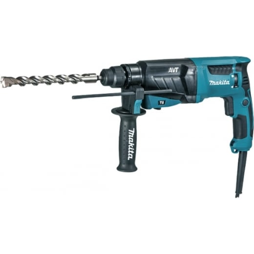 Makita HR2631F Sds Rotary Hammer Drill 240 Volt In Carry Case